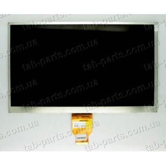 """Дисплей для планшета 10"""" 235x143x3mm 40pin dpi1024*600 тип1"""