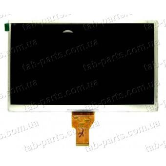 """Дисплей для планшета 10"""" 235x143x3mm 40pin dpi1024*600 тип2"""