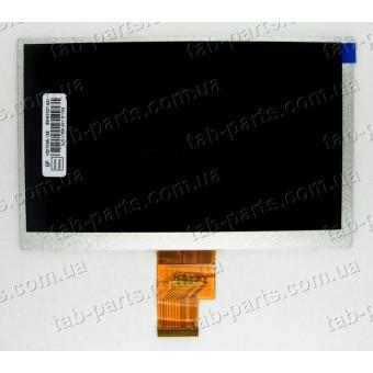 """Дисплей для планшета 7"""" 165x105 40pin dpi1024x600 тип1"""
