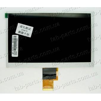 """Дисплей для планшета 7"""" 165x105 40pin dpi1024x600 тип2"""