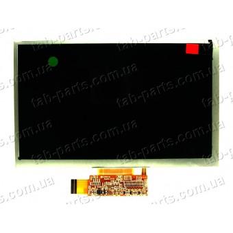 """Дисплей для планшета 7"""" 167x105 39pin dpi1024x600"""