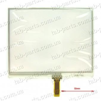 """Тачскрин (сенсор) для GPS навигатора 3.5"""" 75X62 mm"""