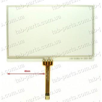 """Тачскрин (сенсор) для GPS навигатора 4.3"""" 103x65 mm"""