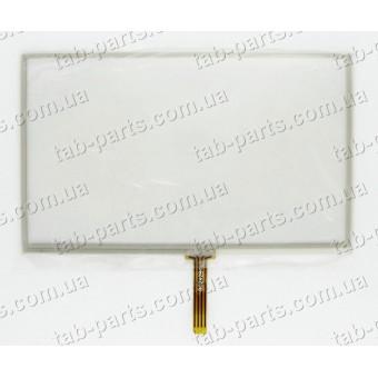 """Тачскрин (сенсор) для GPS навигатора 5"""" 120X73 mm"""