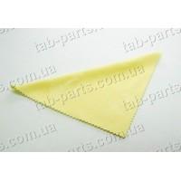 Салфетка микрофибра для удаления пыли и отпечатков