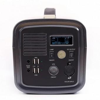 УМБ Портативный источник питания 500VA/300W (3.7v 20000 mAH) с розеткой 220В, 4xUSB, 2x12v DC черный (NPS001Li-BL)