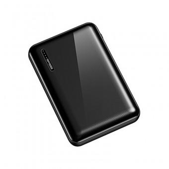 УМБ Power Bank Usams 5000 mAh mini 2xUSB, входы Micro USB/USB Type-C черный (US-CD104-BL)