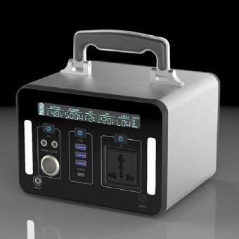 УМБ Портативный источник питания 500Wh (3.7v 135000 mAH) с розеткой 220V, 4xUSB, 3x12v DC (NPS-SR500)