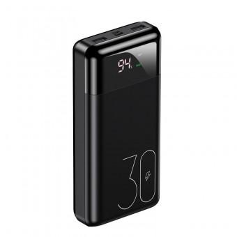 УМБ Power Bank Usams 30000 mAh 3A 2xUSB 1xType-C/PD Quick Charge 3.0, входы Micro USB/USB Type-C черный (US-CD103-BL)