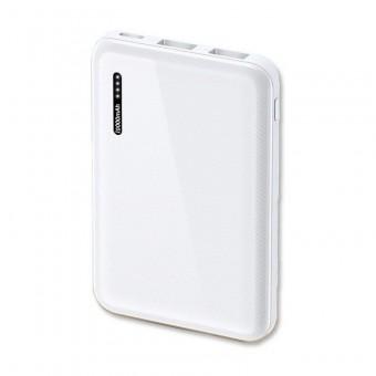 УМБ Power Bank Usams 10000 mAh mini 2xUSB, входы Micro USB/USB Type-C белый (US-CD102-WT)