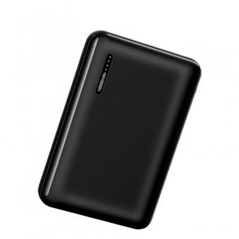 УМБ Power Bank Usams 10000 mAh mini 2xUSB, входы Micro USB/USB Type-C черный (US-CD102-BL)