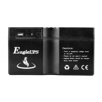 УМБ Портативный источник питания 350VA/200W (3.7v 16200mAH) с розеткой 220В, USB 5V черный (NPS002Pb-BL)