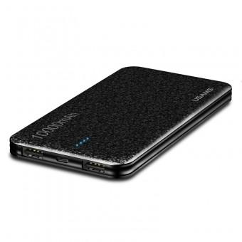 УМБ Power Bank Usams 10000 mAh mini 2xUSB, вход Micro USB черный (US-CD21-BL)