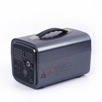УМБ Портативное зарядное устройство 500VA/300W (3.7v 20000 mAH) с розеткой 220В, 4xUSB, 2x12v DC черный (NPS001Li-BL)