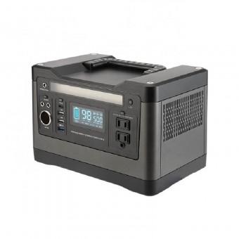 УМБ Портативное зарядное устройство 540Wh (3.7v 145000 mAH) с розеткой 220V, 4xUSB, 2x12v DC (NPS-PPS500)