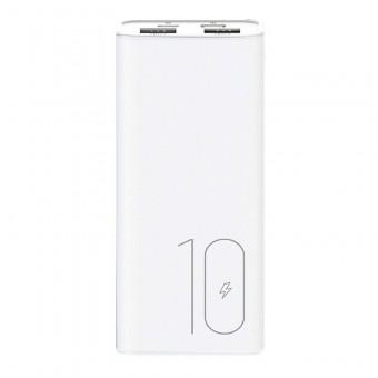 УМБ Power Bank Usams 10000 mAh mini 2xUSB, входы Micro USB/USB Type-C белый (US-CD93-WT)