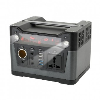 УМБ Портативное зарядное устройство 288Wh (3.7v 60000 mAH) с розеткой 220V, 4xUSB, 3x12v DC, 1x24v DC (NPS-PPS300)