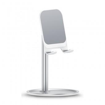 Подставка держатель для телефона (смартфона) планшета Usams серебристый (US-ZJ048-SL)