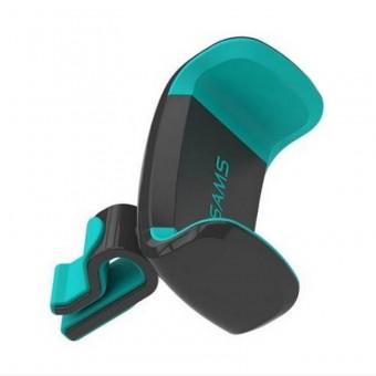 Автодержатель для телефона универсальный Usams антискользящий черно зеленый (US-ZJ004-BG)