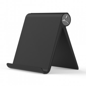 Подставка держатель для телефона (смартфона) планшета TOPK черная (TKD08-BL)
