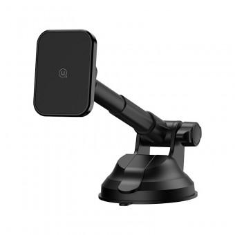Автодержатель для телефона магнитный универсальный Usams 360° 2в1 трансформер черный (US-ZJ055-BL)