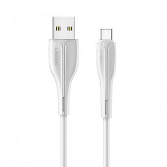 Кабель синхронизации Usams USB Type-C 1m 2A белый (US-SJ372-WT)