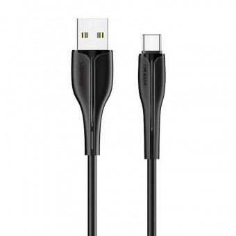 Кабель синхронизации Usams USB Type-C 1m 2A черный (US-SJ372-BL)