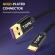 Кабель синхронизации Topk USB Type-C 1m 5A нейлоновый черный (TK11C-VER2-BL)