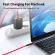 Кабель синхронизации Topk PD USB Type-C Power Delivery 60W 3A 1m нейлоновый красный (TKP42C-VER2-RD)