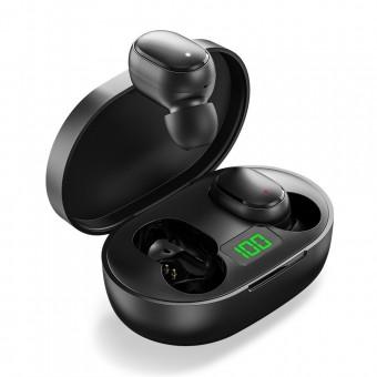 Наушники беспроводные вакуумные TOPK Mini TWS 5.0 Bluetooth с функцией Handsfree черные (TKT24-BL)