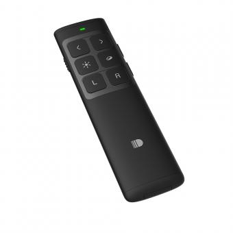 Презентер беспроводной с лазерной указкой Doosl Air Mouse черный (DSIT014-BL)