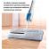 Швабра лентяйка Lazy Hands Оригинальная двухсторонняя с вертикальным отжимом (BSN-48)