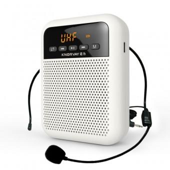 Усилитель голоса громкоговоритель Knorvay белый (KNS330-WT)