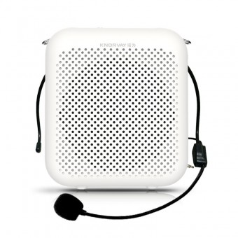 Усилитель голоса громкоговоритель Knorvay белый (KNS358-WT)