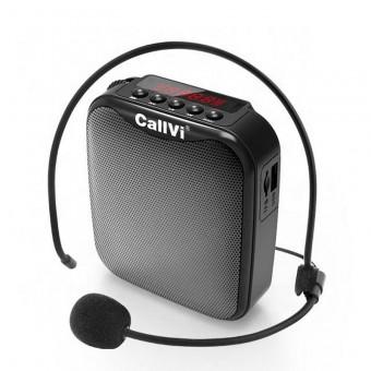 Усилитель голоса громкоговоритель Callvi черный (CV311-BL)