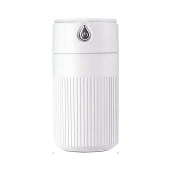 Увлажнитель воздуха ароматизатор с подсветкой Usams Humidifier 420 мл micro USB ультразвуковой белый (UKH1200W)