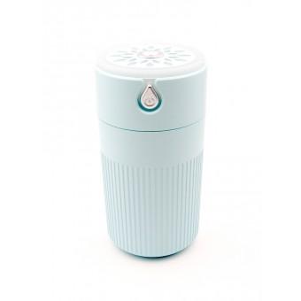 Увлажнитель воздуха ароматизатор с подсветкой Usams Humidifier 420 мл micro USB ультразвуковой бирюзовый (UKH1200B)