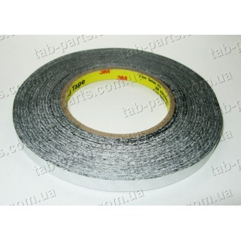 Двухсторонний скотч 3M, черный, 10 мм, 50 метров