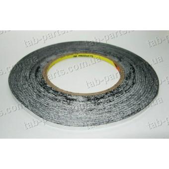 Двухсторонний скотч 3M, черный, 1 мм, 50 метров