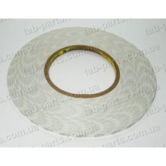 Двухсторонний скотч 3M, белый, 8 мм, 50 метров