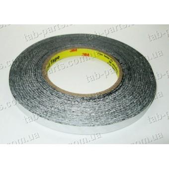 Двухсторонний скотч 3M, черный, 8 мм, 50 метров