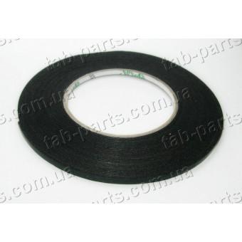 Двухсторонний скотч , черный, ширина 5 мм, толщина 1 мм, 10 метров
