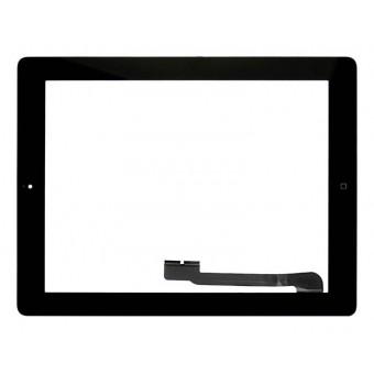 Apple iPad 3, iPad 4 черный с кнопкой Home емкостной тачскрин (сенсор)