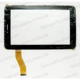 Ainol Novo 7 AX1 3G, Numy тип №2 черный емкостной тачскрин (сенсор)