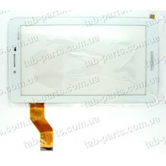 Digma Plane TT702M 3G белый емкостной тачскрин (сенсор)