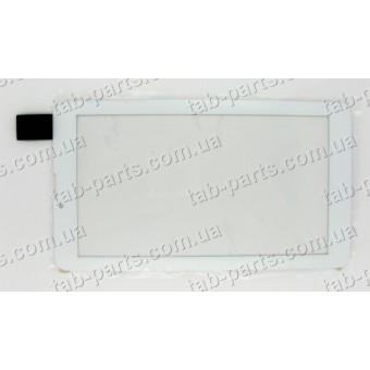 "HS1275, FM707101KD, HK70DR2429 сенсор (тачскрин) белый №42 185x104mm 30pin 7"""