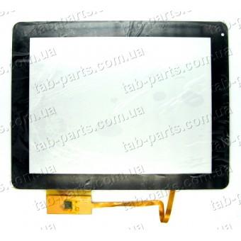 "XC-GG0970-004-A0FPC сенсор (тачскрин) №102 236x183mm 10pin 9.7"""