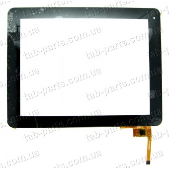 "QSD E-C97003-06 сенсор (тачскрин) №96 236x183mm 12pin 9.7"""