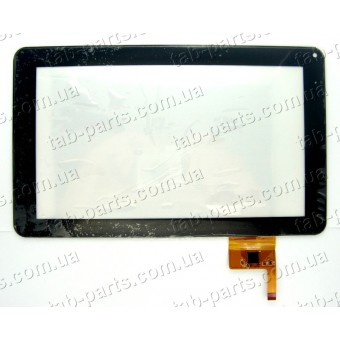 "OPD-TPC0027 сенсор (тачскрин) №107 233x141mm 12pin 9"""
