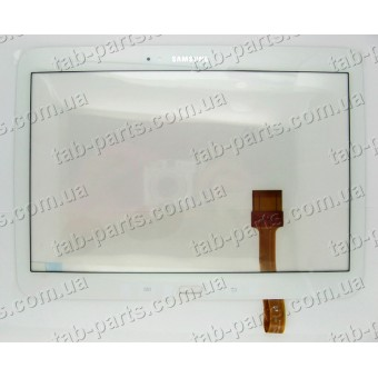 Samsung P5210, P5200 белый емкостной тачскрин (сенсор)